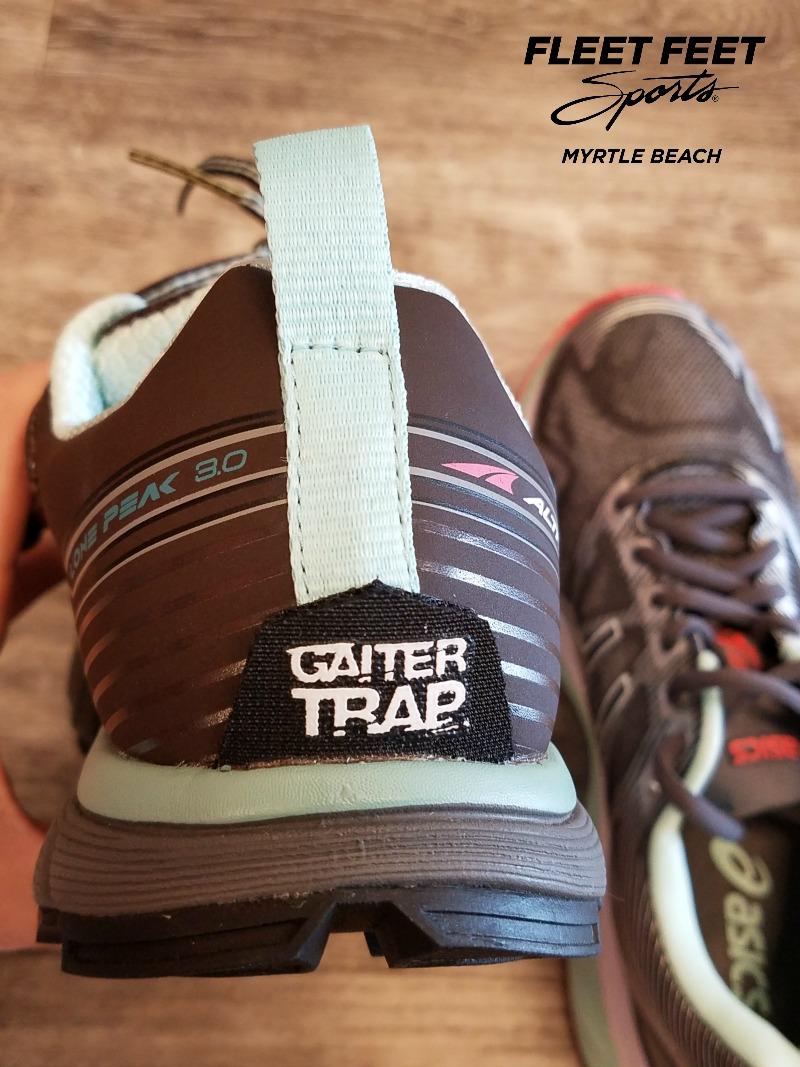 Trail Running Gaiter Trap