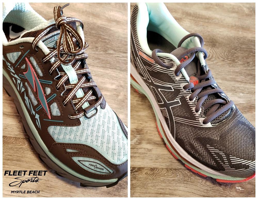 Trail Shoe vs. Road Shoe Upper